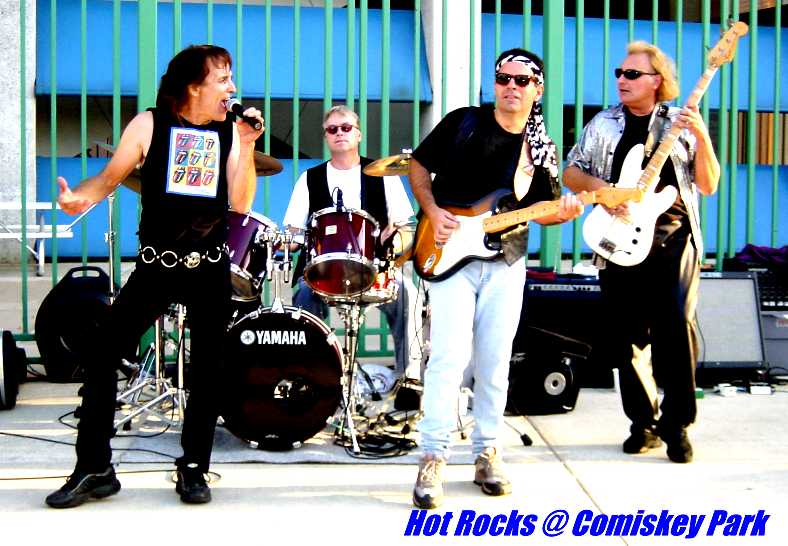 Hot Rocks last show at Comiskey Park