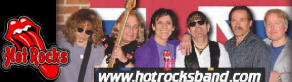 Hot Rocks Rolling Stones Tribute - Chicago Banner