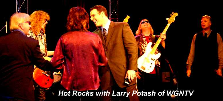 Hot Rocks with Larry Potash of WGNTV