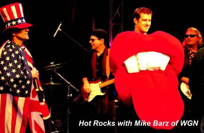 Hot Rocks with Mike Barz of WGNTV