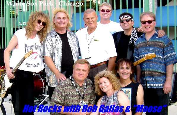Hot Rocks with Rob Gallas and Bill (Moose) Skowron of the White Sox